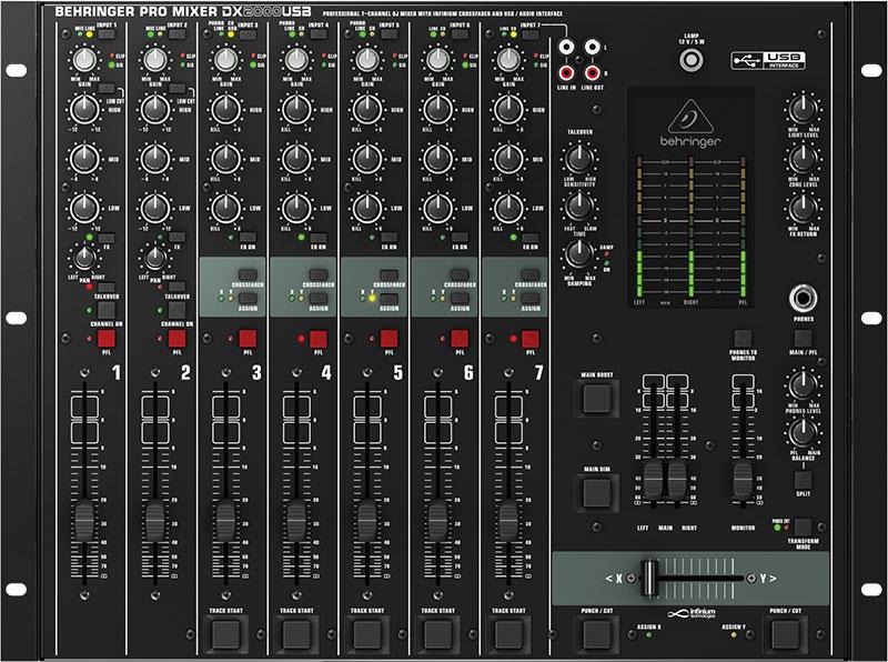 Mikser DJ BEHRINGER PRO MIXER DX2000USB