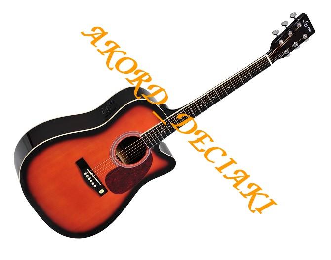 Gitara E-Akustyczna Ever Play AP-302 CEQ