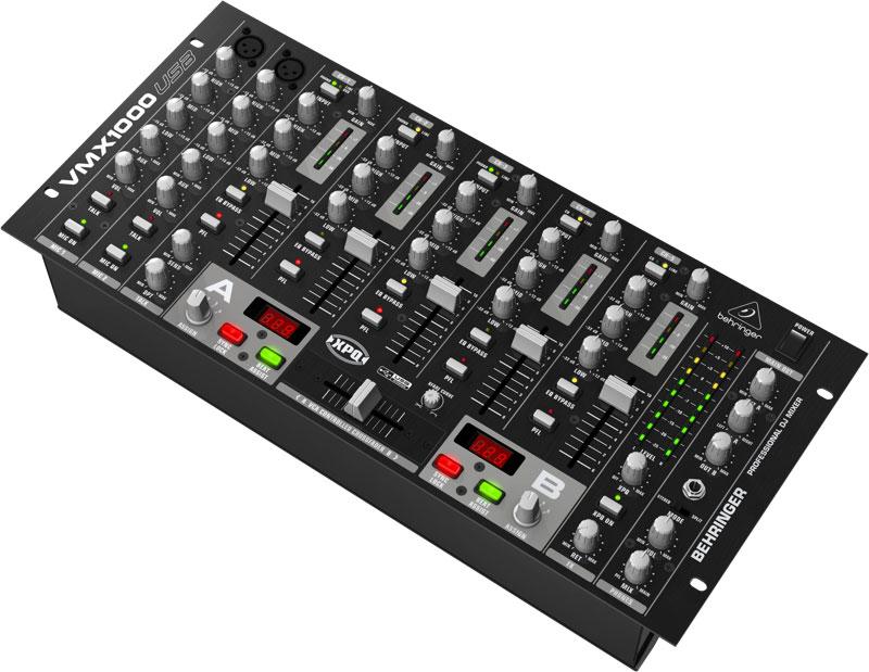 Mikser DJ BEHRINGER PRO MIXER VMX1000USB