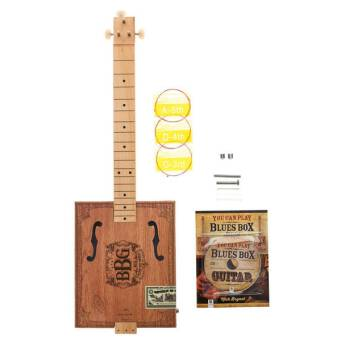Gitara akustyczna Hinkler Books The Blues Box Guitar Kit DIY