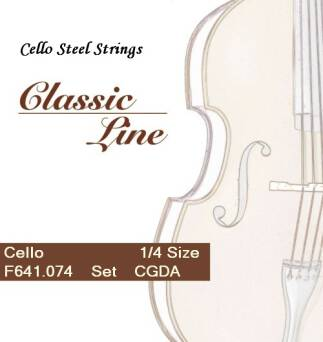 STRUNY DO WIOLONCZELI 1/4 Cello Classic Line