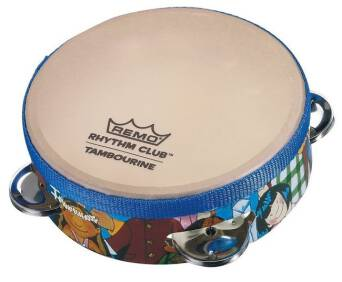 "Crown Percussion Tamburyn 6,5x1,75"" RH-2106-00  REMO"