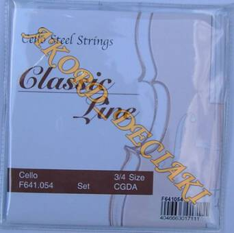 STRUNY DO WIOLONCZELI 3/4 Cello Classic Line