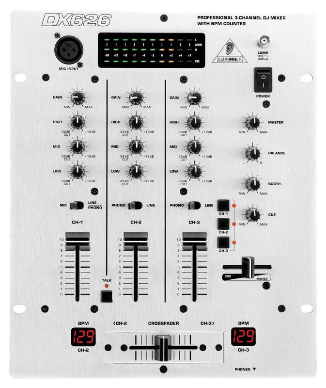 Mikser DJ BEHRINGER PRO MIXER DX626