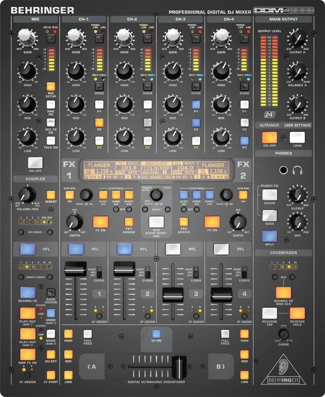 Mikser DJ cyfrowy BEHRINGER DDM4000