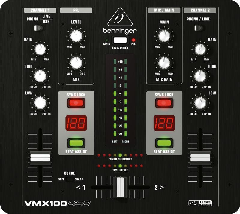 Mikser DJ BEHRINGER PRO MIXER VMX100USB