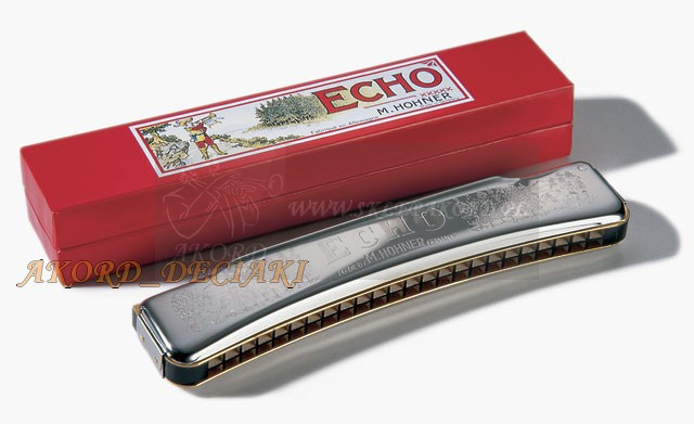 Harmonijka ustna HOHNER ECHO 1494/28C